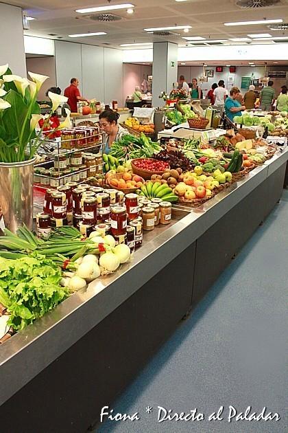 Puestos de verduras