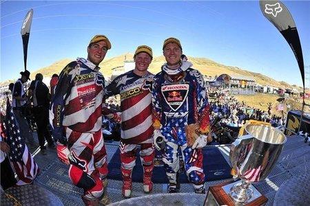 Estados Unidos se alza con la victoria en el Motocross de las Naciones