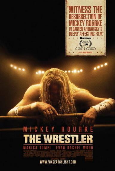 'The Wrestler' de Darren Aronofsky, póster