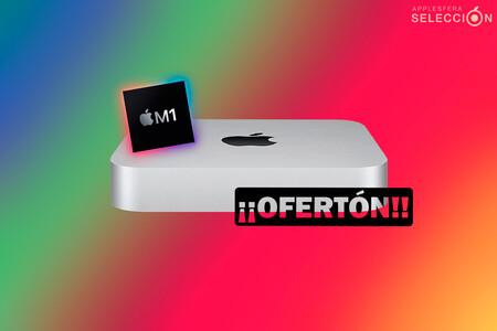 El Mac mini M1 baja hasta los 699,99 euros en Amazon: el ordenador de sobremesa más compacto y económico de Apple