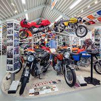 Todo el Museo Laverda sale a la venta en un lote con 81 modelos históricos