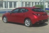 Saluda al nuevo Mazda 3 2014 (sin camuflaje)