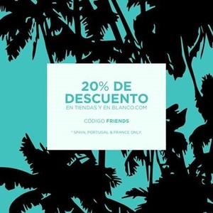 Blanco: ´Best Shopping Friends` un 20 % de descuento para ti y tus amigas