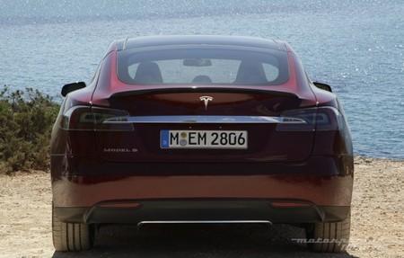Tesla Model S prueba en Ibiza 15