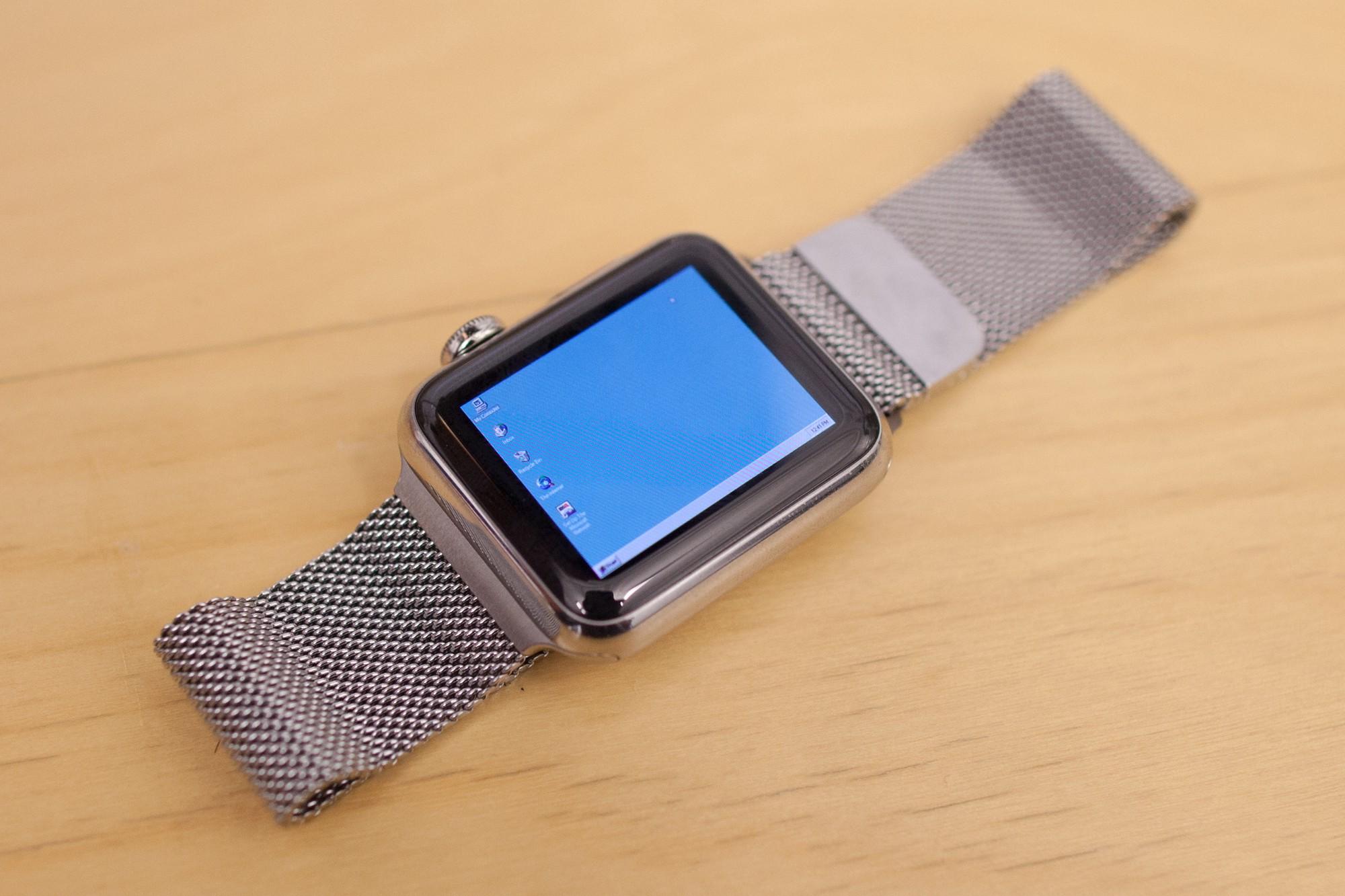 Nada es imposible, Windows 95 ejecutándose en un Apple Watch