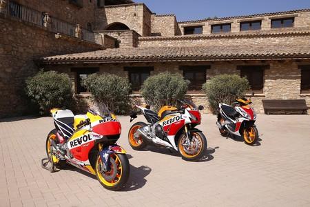Comparativa Motogp Cbr Nsc50r Marquez Pedrosa 1