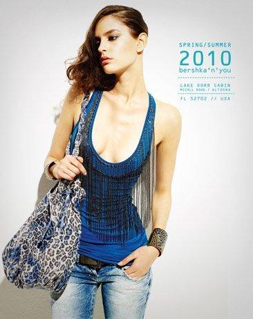Bershka viste a la mujer joven este verano 2010: lookbook completo con todos los estilos IX