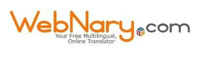 WebNary, traductor online de términos