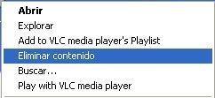 Elimina el contenido de una carpeta con dos clicks en Windows