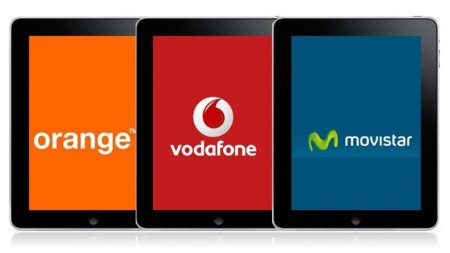 Tarifas de datos para el iPad en España, comparativa entre Orange, Movistar y Vodafone