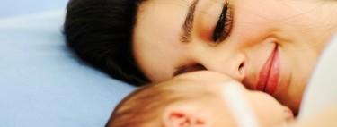 Una joven madre da a luz mientras lucha contra el cáncer cerebral
