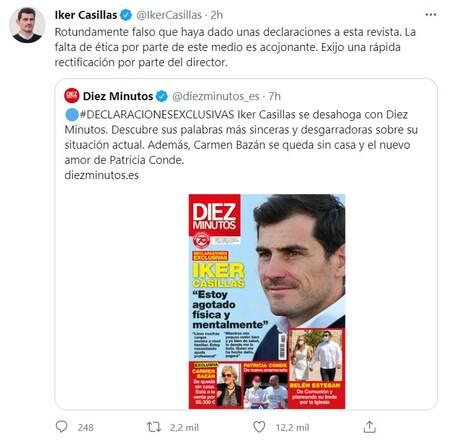 Iker Casillas Diez Minutos