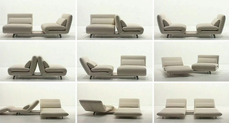 Captivating Futura Le Vele Swivel Recliner Sofa