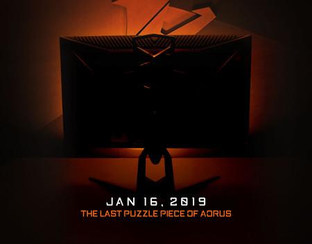 Gigabyte también se apunta al mercado de los monitores gaming con un lanzamiento que llegará bajo la marca AORUS