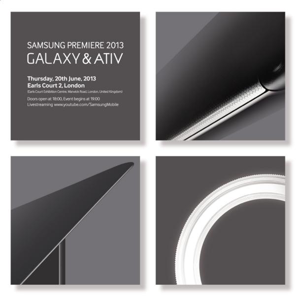 Samsung ya tiene listos nuevos equipos ATIV y Galaxy