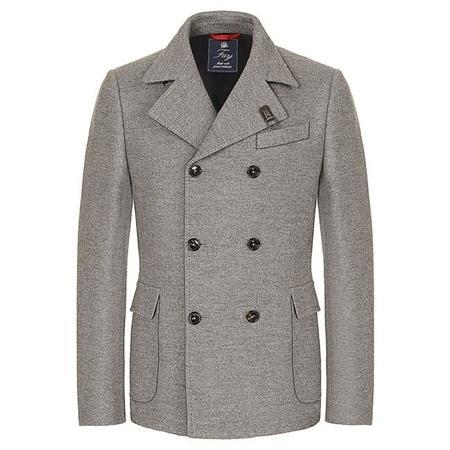 Cuando todos parecían elegantes: chaquetón de lana de Fay