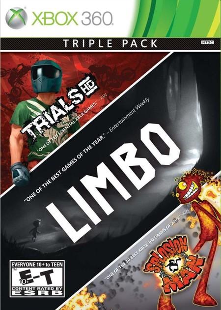 Trials HD, Limbo, splosion man triple pack