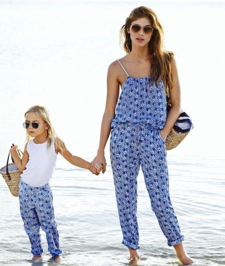 ropa igual madre y bebe