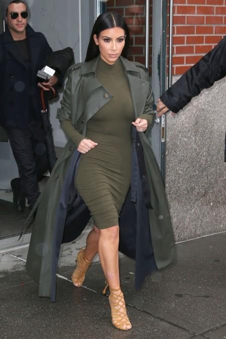 Kim y el verde militar