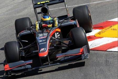GP de Mónaco 2010: Bruno Senna sigue con problemas en su monoplaza
