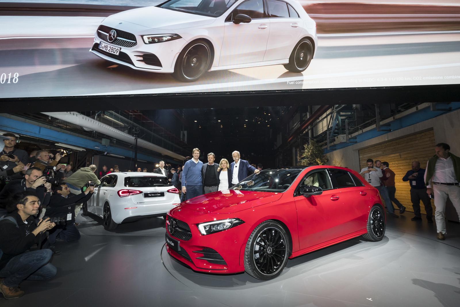 Foto de Mercedes-Benz Clase A 2018 - presentación (36/114)