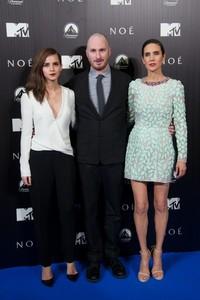 ¿Emma Watson o Jennifer Connelly durante la promoción de 'Noé'? He ahí la cuestión