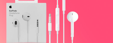 Los míticos auriculares con cable EarPods de Apple están más baratos que nunca en Amazon por 11,99 euros