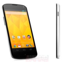 El Nexus 4 blanco se deja ver en imágenes oficiales