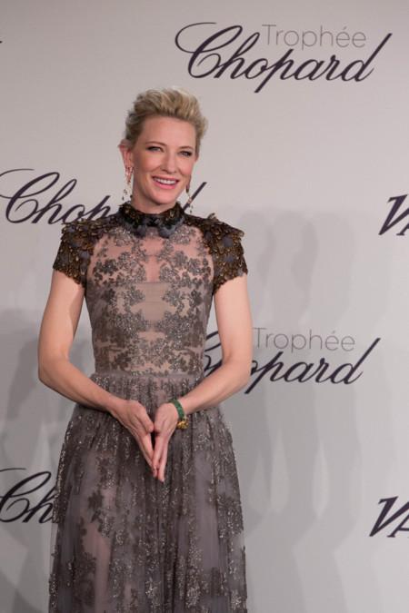 Una vez más Cate Blanchett nos deja con la boca abierta