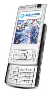 Lleva tu Nokia a esquiar con SkiMondo