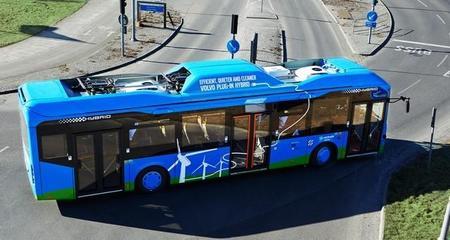 Los autobuses híbridos enchufables de Volvo están funcionando con éxito en Gotemburgo