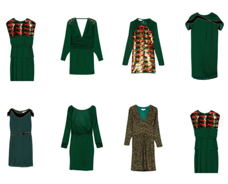 Vestido verde hoss intropia
