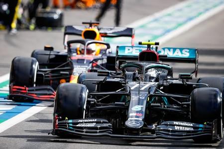 Bottas Verstappen Spa F1 2020