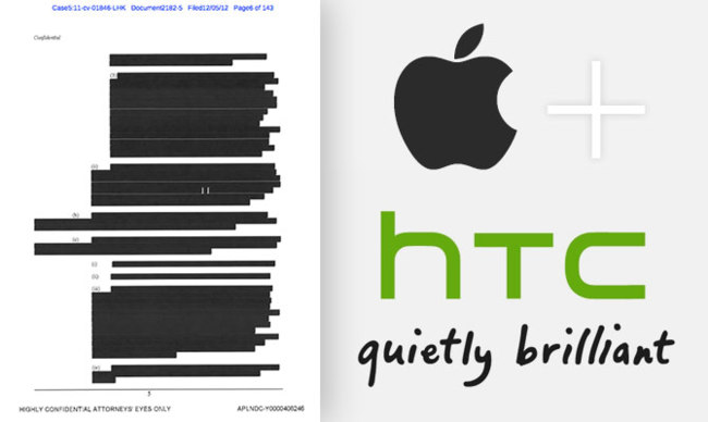 Acuerdo entre Apple y HTC