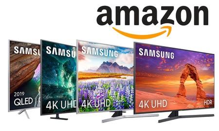 Ofertas en smart TVs Samsung en Amazon: de 40 a 65 pulgadas a precios ajustados