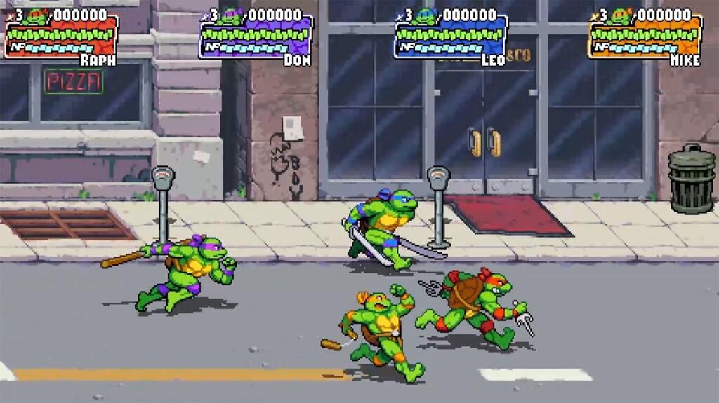 Las Tortugas Ninja vuelven con 'Shredder's Revenge', un brawler nostálgico de los creadores de 'Streets of Rage 4' y 'Scott Pilgrim'