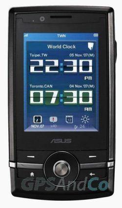 Asus P560 con GPS y montura para el coche