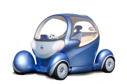 Nissan Pivo 2, con robot de copiloto
