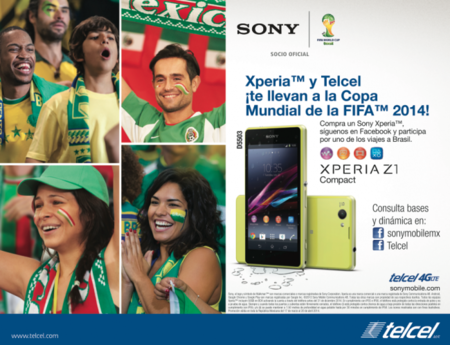 Sony Xperia Z1 Compact Telcel