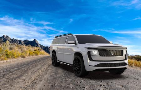 El Triton Model H promete ser un gigantesco (e improbable) SUV eléctrico de ocho plazas, 1.500 CV y 1.120 km de autonomía