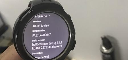 'Halfbeak', así es el eternamente rumoreado primer smartwatch de HTC