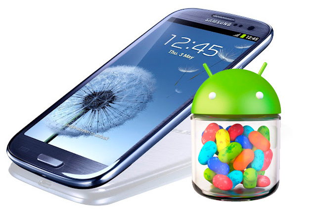 Samsung Galaxy S3 Jelly Bean