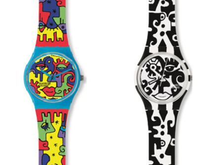 Nuevos relojes Swatch diseñados por Billy the Artist