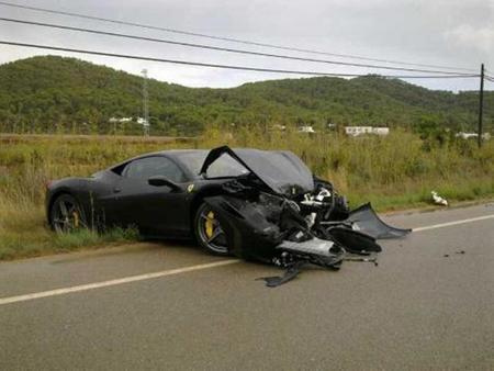 Dolorpasión™: el Ferrari 458 Italia que no llegó a los cierres de Ibiza