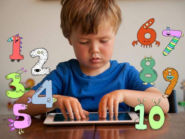 Aprendiendo a contar y a sumar y restar de forma natural, con los dedos