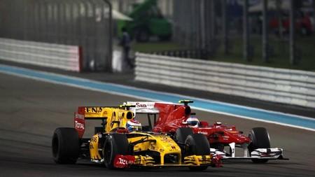 Alonso Petrov Abu Dabi F1 2010