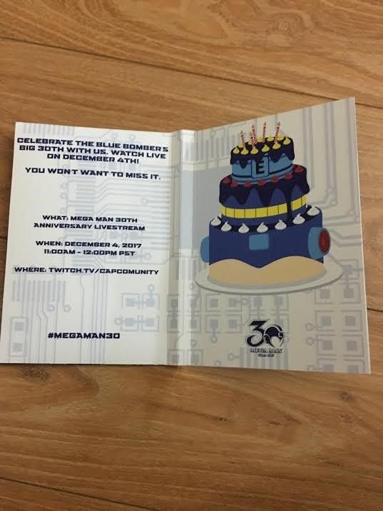 Mega Man 30 Aniversario