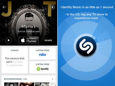 Bloomberg: Apple quiere que el reconocimiento de música de Shazam forme parte de iOS 8