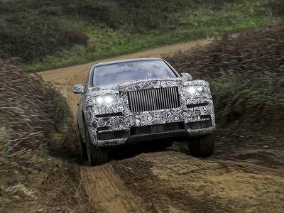 El SUV de Rolls-Royce se llamará Cullinan y será un auténtico palacio