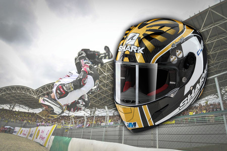 Estás a 680 euros de un Shark Race-R Pro Carbon Replica Zarco World Champion 2016, un casco histórico